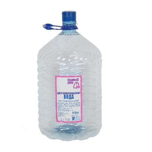 исцилированная вода